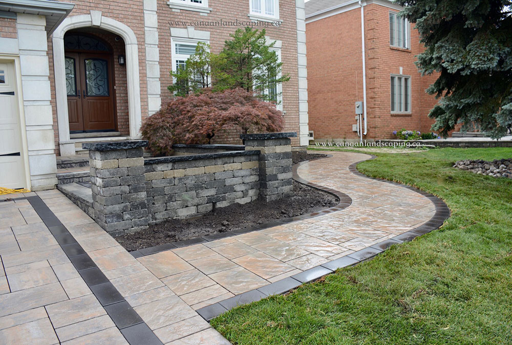 Beacon Hill Flagstone Canaan Landscaping